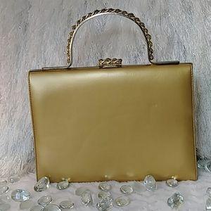 VINTAGE 60's Francois of California Leather Purse